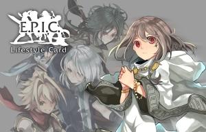 EPIC Card white
