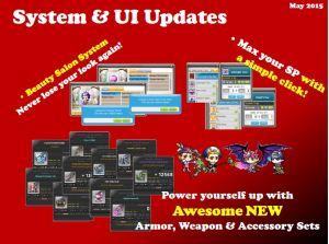 System & UI Updates