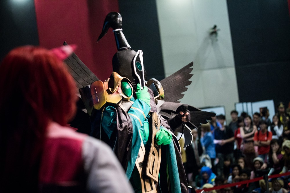 Cosplay Performances on Stage